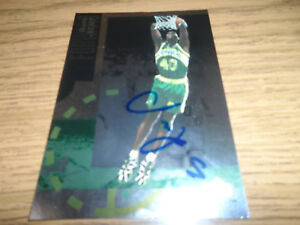 SHAWN KEMP signed/autographed oversized UPPERDECK card NBA SEATTLE SUPERSONICS