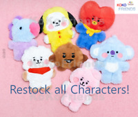 BTS BT21 Official Baby Flat Fur Mini Standing Doll Authentic Goods KPOP Item MD