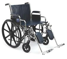 """Medline Excel Bariatric Wheelchair With 500 LB Capacity 24"""" Wide Seat MDS806950"""