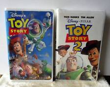 DISNEY VHS TOY STORY & TOY STORY 2 ~ ONE SEALED ~ CLAM CASE #4w