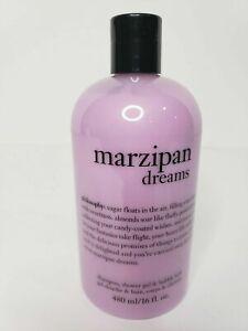 Philosophy Marzipan Dreams 3-1 Bath/Shower Gel 16 oz Bubble Bath NEW SEALED !!