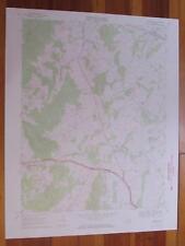 Upperville Virginia 1971 Original Vintage USGS Topo Map