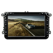 Car DVD Player Bluetooth Radio Stereo GPS Nav Unit For VW Passat B6 Golf Tiguan