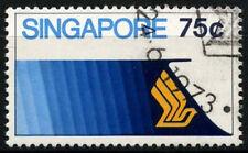Singapore 1973 SG#199, 75c Aviation Cto Used #D34875