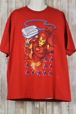 Marvel Comics IRON MAN red T-Shirt sz. 2XL