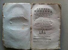 1785 RARISSIMA STORIA ROLLIN MARCY -VOL.7- SUMATRA GIAVA BORNEO MOLUCCHE