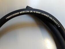 Webcon 7.4mm id 10 bar unleaded fuel hose in 1 metre lengths 9990268800
