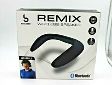 New listing Remix Wireless Wearable Speakers Bluetooth Version 5.0 Black