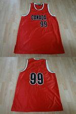 Men's Canada #99 XXL Basketball Jersey Steve & Barry's Jersey
