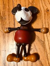 vintage 1930s mickey mouse wood jointed compostion head