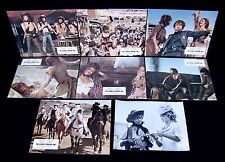 Lot (8) THE LEGEND OF FRENCHIE KING   LOBBY CARDS + PHOTO  BARDOT / CARDINALE