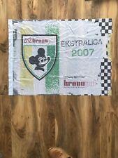 More details for speedway zkz kronopol falubaz zielona gora flag signed by niels k iversen