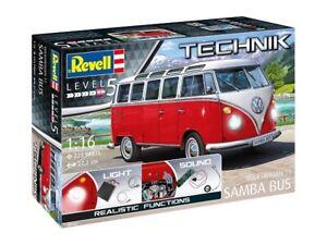 """Revell Technology 00455 - 1/16 Volkswagen T1 """" Samba Bus """" - New"""