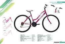 Bici Faema Mystic Mountain Bike 26 Donna 18 Velocita' Viola Mtb0058
