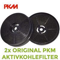 2 Aktivkohlefilter Filter für Dunstabzugshaube PKM 9860//L 9040//90W 9040//60W