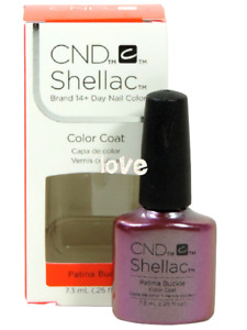 CND Shellac Gel Color UV Polish Craft Culture Collection 91255- Patina Buckle
