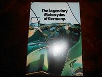 NOS BMW OEM 1981 R100 R80 R65 CS G/S LS RT RS Brochure 19 pgs