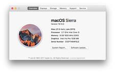 "Apple iMac 21.5"" Late 2013 2.7 GHz Quad Core i5 8GB RAM"