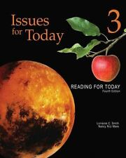 Reading for Today: Issues for Today No. 3 by Lorraine C. Smith and Nancy Nici...