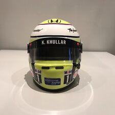 Jenson Button Mini Helmet 1/2 1:2 McLaren F1 2016 Abu Dhabi DRM