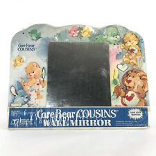 Vintage Care Bears Cousins Kids Collectors Wall Art Mirror Furiture Display