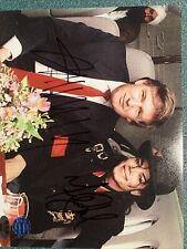 Donald Trump President & Michael Jackson 8x10 photo Signed Autographed W/ 2 Coas