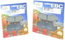 Standard Organic Brake Pads Front Set EBC FA69