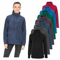 Trespass Strength Womens Warm Full Zip Fleece Ladies Camping Hiking Jumper