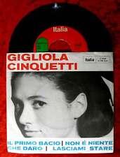 Single GIGLIOLA CINQUETTI: il primo bacio che Diaro (Italia J 2026) D