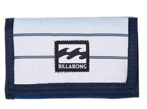 BRAND NEW BILLABONG WALLET MENS BOYS KIDS TRI-FOLD SURF BLUE POLYESTER ATOM