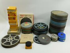 Vintage Lot of 58 Estate Home Movies Film 8mm 16mm Super 8 w/ Boxes Cases NR
