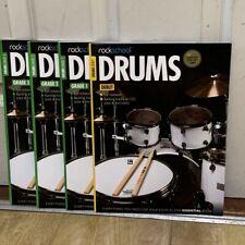 Rock School Drum Books (Debut + Grades 1,2 & 3) // Free Shipping