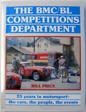 BMC/BL COMPETITIONS DEPARTMENT 25 YEARS IN MOTORSPORT Price ISBN 1859604390 Book