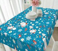 3D Stern-Schneeflo M138 Christmas Tischdecke Tischdecke Tuch Geburtstagsfeier An