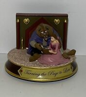 RARE DISNEY BEAUTY AND THE BEAST LIMITED EDITION FIGURINE 02/1933