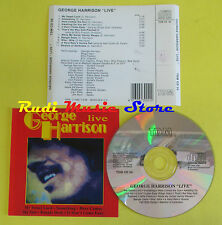CD GEORGE HARRISON Live 1992 italy TDM CD 56 THE BEATLES preston(Xs4) no lp mc