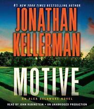 Jonathan Kellerman * MOTIVE * Unabridged CD *NEW* $45 Value *FAST SHIP*
