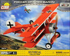 COBI Fokker Dr.I -=Red Baron=- (2974) - 175 elem. - WWI German fighter