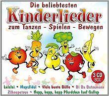 Die beliebtesten Kinderlieder zum Tanzen - Spielen - Beweg... | CD | Zustand gut