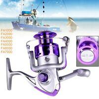 FA 8BB 5.2:1 Gear Ratio Saltwater / Freshwater Metal Fishing Spinning Reel