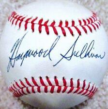 HAYWOOD SULLIVAN (D.2003) (RED SOX - KC ATHLETICS) SIGNED OAL BASEBALL JSA