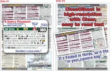 Digital Rebel Sl3/Eos 200D Ii CheatSheet guide manual Cheat Sheet help