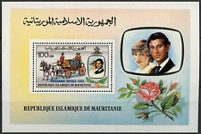 Mauritania 1982 Royal Baby Birth MNH M/S #A90494