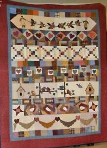 Country Hearts quilt pattern by Therese Hylton