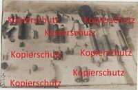 WK1 Foto franz. Blindgänger Waffen Beute Granaten Pistolen Gewehr usw. 2214