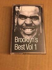 RARE DJ Enuff Brooklyn's Best Vol. 1 CLASSIC 90s NYC Tape Kingz Mixtape Cassette