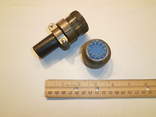 New - Ms3106A 24-19S (Sr) with Bushing - 12 Pin Female Plug