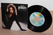 "Pebbles Girlfriend 7"" vinyl picture sleeve MCA Records"