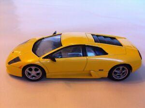 Lamborghini Murcielago Gelb Neu 1:43 Maßstab Teil Arbeit