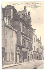 CPA 21 - CHATILLON SUR SEINE (Côte d'Or) - Rue du Bourg et Maison de Philandrier